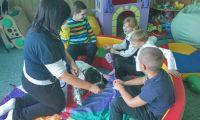 Розвивальні заняття для першокласників з використанням каністерапії